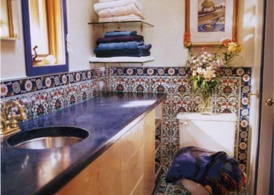 turkish tile bath